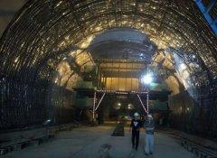 虎家崖隧洞口及主体工...